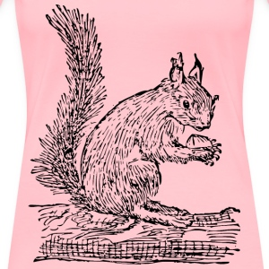 Squirrel - Women's Premium T-Shirt