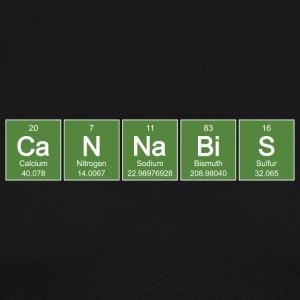 Periodic CaNNaBiS - Green - Men's Premium T-Shirt