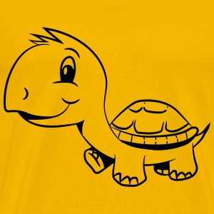 Turtle funny cute kids T-Shirts - Men's Premium T-Shirt