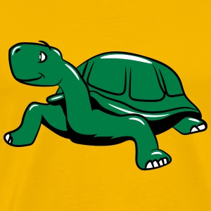 Turtle funny real T-Shirts - Men's Premium T-Shirt