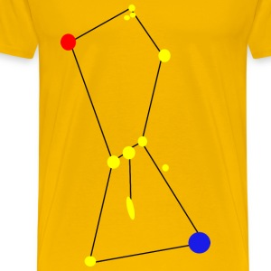 Orion Constellation with Nebula - Men's Premium T-Shirt