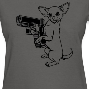 Armed Chihuahua - Women's T-Shirt
