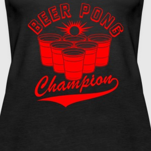 Beer Pong Champion - Women's Premium Tank Top
