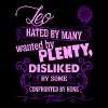 Leo Hated By Many Wanted By Plenty T-Shirts - Women's Premium T-Shirt