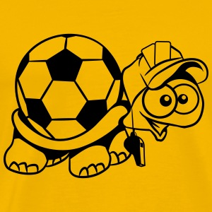 Turtle football referee T-Shirts - Men's Premium T-Shirt