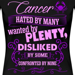 Cancer Hated By Many Wanted By Plenty T-Shirts - Women's Premium T-Shirt