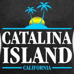 Catalina Island T-Shirts - Women's Roll Cuff T-Shirt