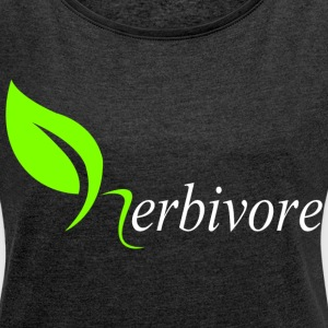 Herbivore T-Shirts - Women´s Roll Cuff T-Shirt