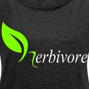 Herbivore T-Shirts - Women´s Rolled Sleeve Boxy T-Shirt