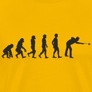 Evolution Billard T-Shirts - Men's Premium T-Shirt