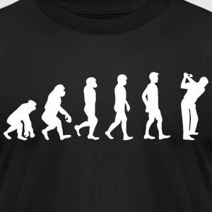 Evolution Golf T-Shirts - Men's T-Shirt by American Apparel