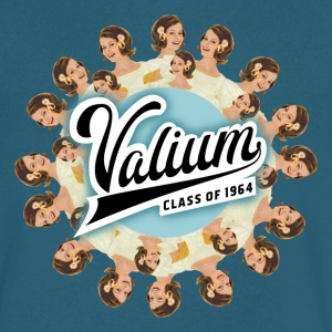 VALIUM Men's V-iconic - Men's V-Neck T-Shirt by Canvas
