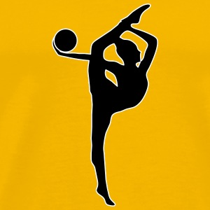 Rhythmic Gymnastics Ball - Men's Premium T-Shirt