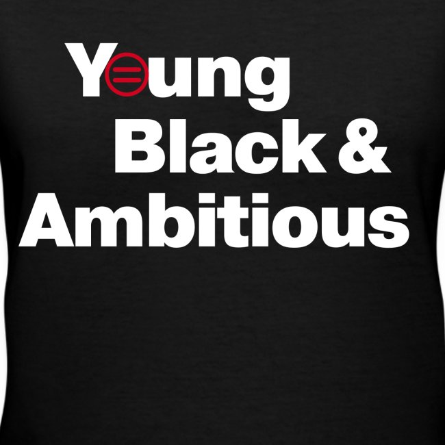 Women's YBA V-Neck (Black)