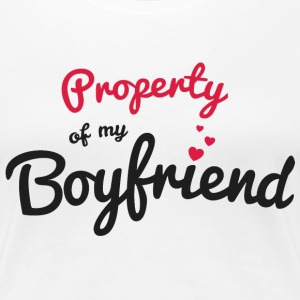 Propriety of my girlfirend T-Shirts - Women's Premium T-Shirt