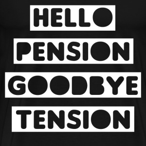 Pension Tension T-Shirts - Men's Premium T-Shirt
