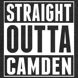 straight-outta-camden - Unisex Tri-Blend T-Shirt by American Apparel