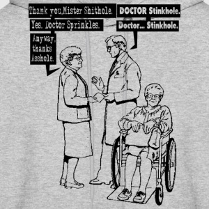 Funny Thanks Doctor Hoodies - Men's Hoodie