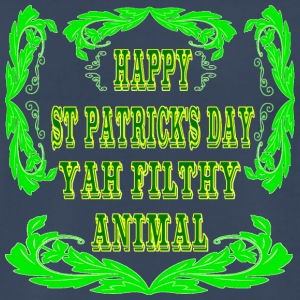 Happy St Patrick's Day Yah Animal - Men's Premium T-Shirt