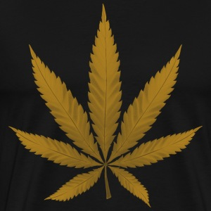 Marijuana Leaf - Men's Premium T-Shirt
