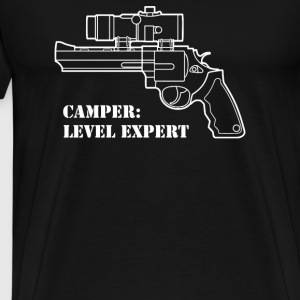 Camper Level Expert - Men's Premium T-Shirt