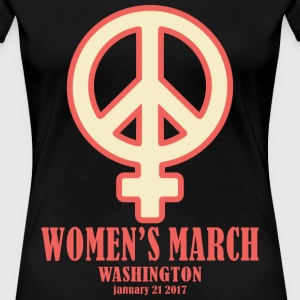 women's march 1 - Women's Premium T-Shirt
