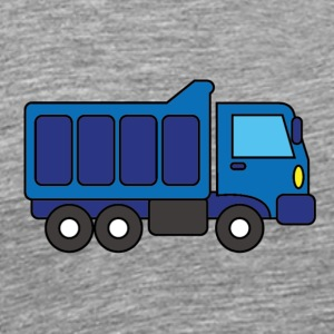 Big Blue Truck - Men's Premium T-Shirt
