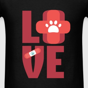 Veterinary - Love - Men's T-Shirt