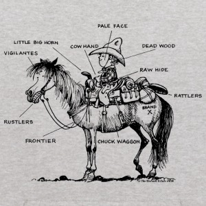Thelwell Learning Western Riding - Kids' Hoodie