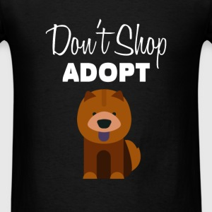 Pet Adoption - Don't shop adopt - Men's T-Shirt