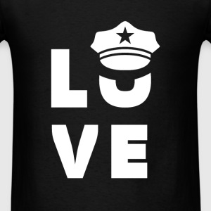 Policeman - Love Policeman - Men's T-Shirt
