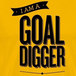 GoalDigger_shirt_design_-_SHELLY_SHELTON - Men's Premium T-Shirt