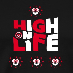 high on life - Men's Premium T-Shirt