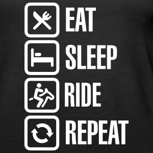 Eat - Sleep - Ride Horse - Repeat Tanks - Women's Premium Tank Top