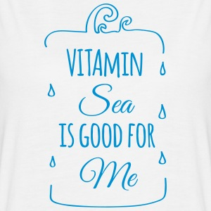 Vitamin sea is good for me ocean beach holiday C Tanks - Women's Flowy Muscle Tank by Bella