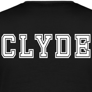 Valentine's Day Matching Couples Clyde Jersey - Men's Premium T-Shirt