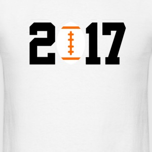 2017 football T-Shirts - Men's T-Shirt