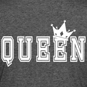Valentine's Matching Couples Queen Crown - Women's 50/50 T-Shirt