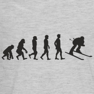 Evolution Skiing Kids' Shirts - Kids' Premium Long Sleeve T-Shirt