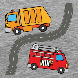 Two Trucks - Men's Premium T-Shirt
