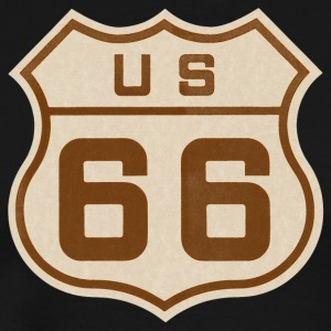 Route 66 T-Shirt - Men's Premium T-Shirt