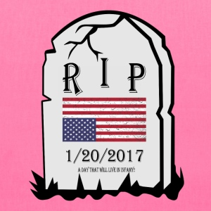 1/20/2017:  A Day that will live in Infamy! Bags & backpacks - Tote Bag