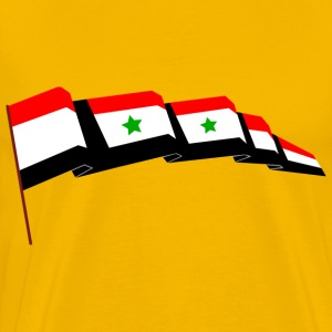 Syrian flag - Men's Premium T-Shirt