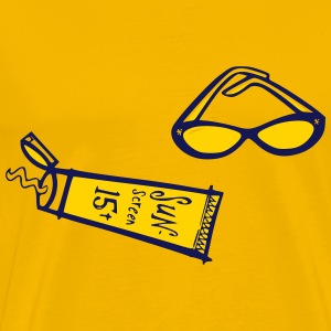 Sunny Days Sunscreen   Sunglasses - Men's Premium T-Shirt