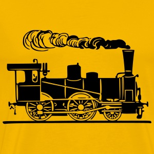 Steam Locomotive 3 - Men's Premium T-Shirt