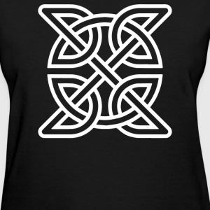 Celtic Knot Symbol Decal - Women's T-Shirt