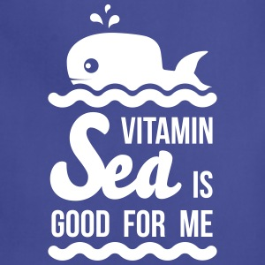 Vitamin sea is good for me C holiday ocean beach Aprons - Adjustable Apron