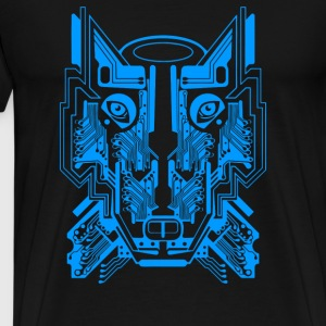 Circuit Wolf` - Men's Premium T-Shirt