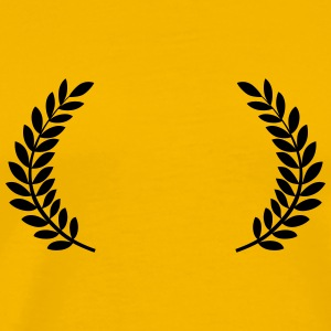 Laurel Wreath for Film Festival Awards - Men's Premium T-Shirt
