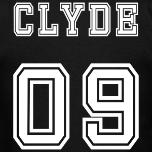 Valentine's Day Matching Couples Clyde Number - Men's T-Shirt